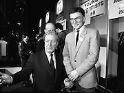 08/01/1988.01/08/1988.8th January 1988 .The Aer Lingus Young Scientist of the Year Award at the RDS, Dublin..Picture shows the Taoiseach Charles Haughey, T.D with a Runner-up (unknown) at the Exhibition.