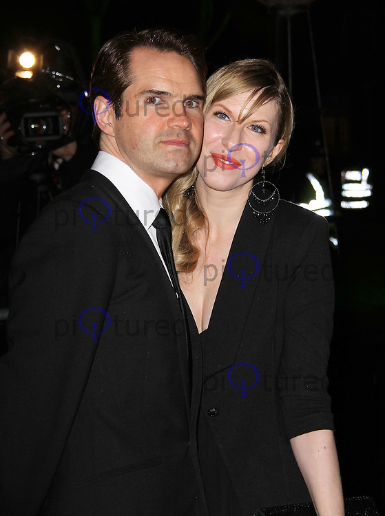 LONDON - DECEMBER 19: Jimmy Carr; Karoline Copping attend the The Sun Military Awards 'The Millies' at the Imperial War Museum, London, UK on December 19, 2011. (Photo by Richard Goldschmidt)