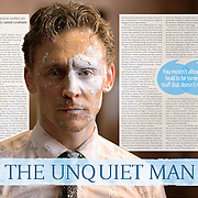 Tom Hiddleston Sunday Times Culture Magazine. Cover story Up and Running. <br />