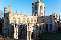 The medieval parish church of Saint Mary, North Bar Within, Beverley, Yorkshire UK
