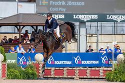 JÖNSSON Fredrik (SWE), Cold Play<br /> Tryon - FEI World Equestrian Games™ 2018<br /> FEI World Individual Jumping Championship<br /> Third cometition - Round A<br /> 3. Qualifikation Einzelentscheidung 1. Runde<br /> 23. September 2018<br /> © www.sportfotos-lafrentz.de/Stefan Lafrentz