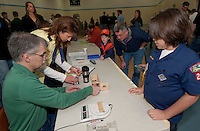 Cub Scout Pinewood Derby at Gilford Community Center March 19, 2011.