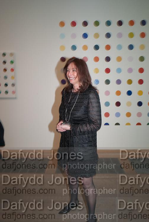 ANITA ZABLUDOWICZ, Damien Hirst, Tate Modern: dinner. 2 April 2012.