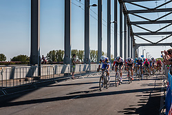 Peloton with rider of Etixx - Quick Step (BEL) leading at the 2nd lap (1000M) from the finish line on the John Frost Bridge 'A Bridge Too Far', stage 3 from Nijmegen to Arnhem running 190 km of the 99th Giro d'Italia (UCI WorldTour), The Netherlands, 8 May 2016. Photo by Pim Nijland / PelotonPhotos.com | All photos usage must carry mandatory copyright credit (Peloton Photos | Pim Nijland)