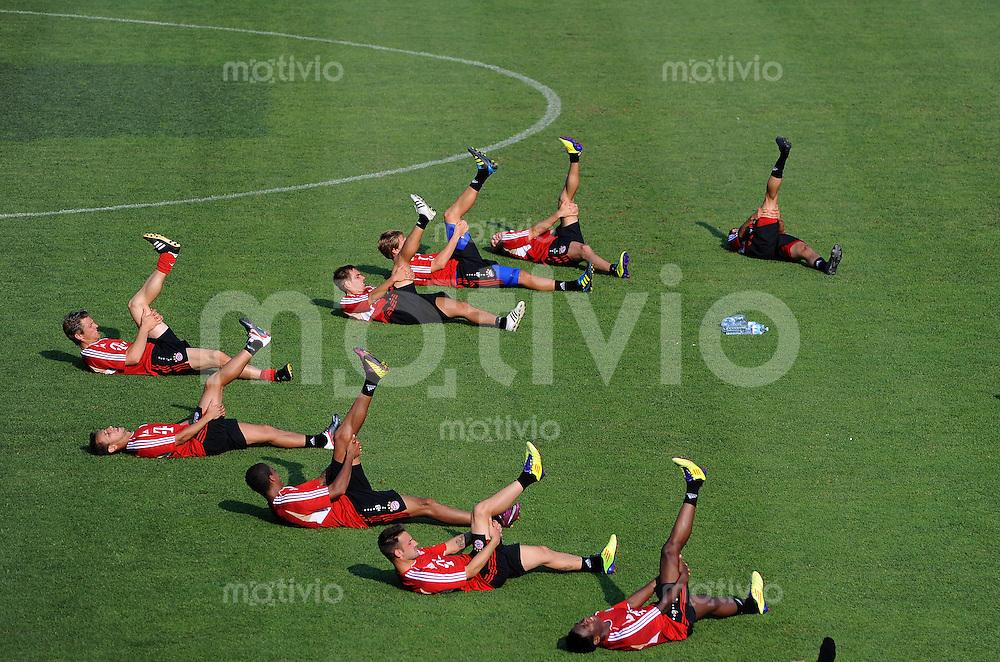 Fussball 1. Bundesliga:  Saison   2011/2012   05.07.2011    Vorbereitung im Trainingslager am Gardasee , Trentino, Riva del Garda Bayern Allgemein