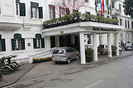 Hotel Metropole  in downtown Hanoi, Vietnam<br />  photo by Dennis Brack