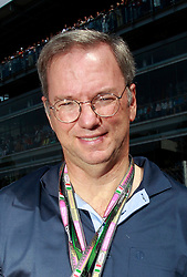 Motorsports / Formula 1: World Championship 2010, GP of Italy, Eric Schmidt (Google CEO)