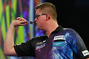 Ted Evetts during the PDC World Championship darts at Alexandra Palace, London, United Kingdom on 14 December 2018.