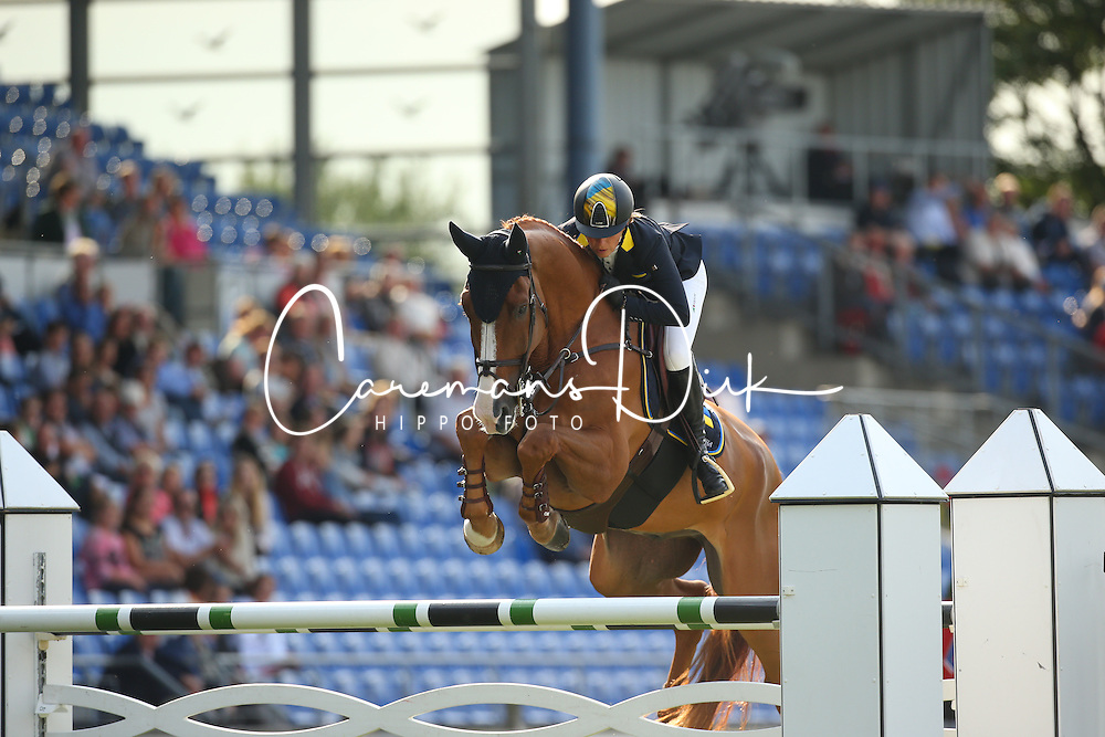 Offel Katharina, (UKR), Zipper<br /> Team Competition round 1 and Individual Competition round 1<br /> FEI European Championships - Aachen 2015<br /> &copy; Hippo Foto - Stefan Lafrentz<br /> 19/08/15