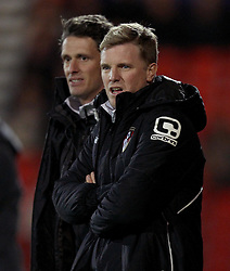 Bournemouth Manager, Eddie Howe - Photo mandatory by-line: Robbie Stephenson/JMP - Mobile: 07966 386802 - 03/03/2015 - SPORT - football - Bournemouth - Dean Court - Bournemouth v Wolverhampton Wanderers - Sky Bet Championship