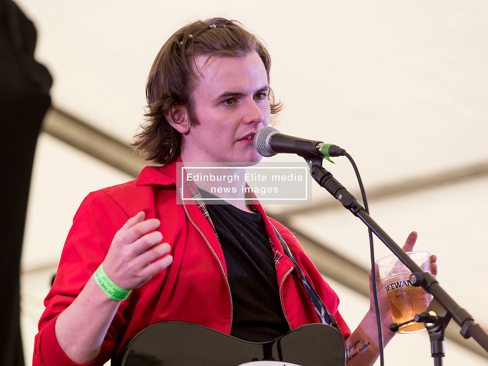 Declan Welsh performing at Party At The Palace Music Festival in Linlithgow Palace grounds on Sat 13th August 2016.<br /> <br /> <br /> Alan Rennie/ EEm