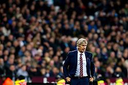 West Ham United manager Manuel Pellegrini - Mandatory by-line: Robbie Stephenson/JMP - 31/10/2018 - FOOTBALL - London Stadium - London, England - West Ham United v Tottenham Hotspur - Carabao Cup