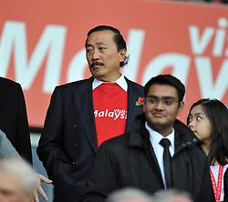 Cardiff City Owner Vincent Tan  - Photo mandatory by-line: Alex James/JMP - Tel: Mobile: 07966 386802 03/11/2013 - SPORT - FOOTBALL - The Cardiff City Stadium - Cardiff - Cardiff City v Swansea City - Barclays Premier League