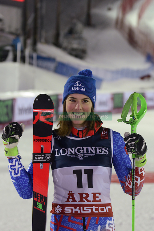 February 8, 2019 - Are, Sweden - PETRA VLHOVA of Slovakia after finishing second in the Ladies Alpine Combined ski race at the FIS Alpine World Ski Championships in Are Sweden. (Credit Image: © Christopher Levy/ZUMA Wire)