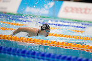 New Zealand's Sophie Pascoe competes in the Women's 100m Butterfly S10. 2015 IPC Swimming World Championships - Tollcross Swimming Centre, Glasgow, Scotland. Photo credit: Luc Percival Photography.