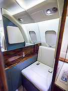 Piaggio P180 Avanti II lavatory, created for marketing the aircraft.  Created by aviation photographer John Slemp of Aerographs Aviation Photography. Clients include Goodyear Aviation Tires, Phillips 66 Aviation Fuels, Smithsonian Air & Space magazine, and The Lindbergh Foundation.  Specialising in high end commercial aviation photography and the supply of aviation stock photography for commercial and marketing use.