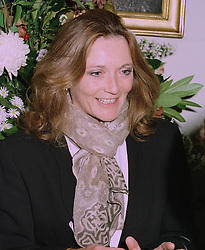 LEONORA, COUNTESS OF LICHFIELD at a reception in London on 13th October 1997.MCA 41