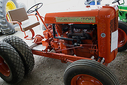 01 August 2014:   McLean County Fair. 1947 Worthington tractor at the antique tractor display.