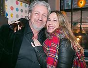 2018-03-20. De Bajes, Amsterdam. Lancering 6e editie van Amsterdam XXXL. Op de foto: Mark Teurlings en Claudia Schoemacher