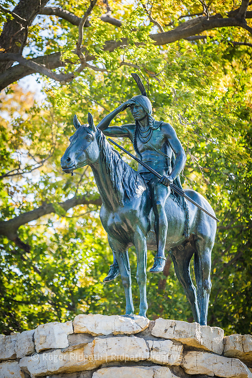 KC Scout full sculpture in Kansas City Missouri