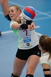 20190131 NED: Semi Final Cup Sliedrecht Sport - Eurosped, Sliedrecht <br />Daphne Knijff (7) of Team Eurosped Twente<br />©2019-FotoHoogendoorn.nl / Pim Waslander