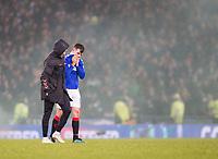 Football - 2019 Betfred Scottish League Cup Final - Celtic vs. Rangers<br /> <br /> Ryan Jack of Rangers at full time, Hampden Park Glasgow.<br /> <br /> COLORSPORT/BRUCE WHITE