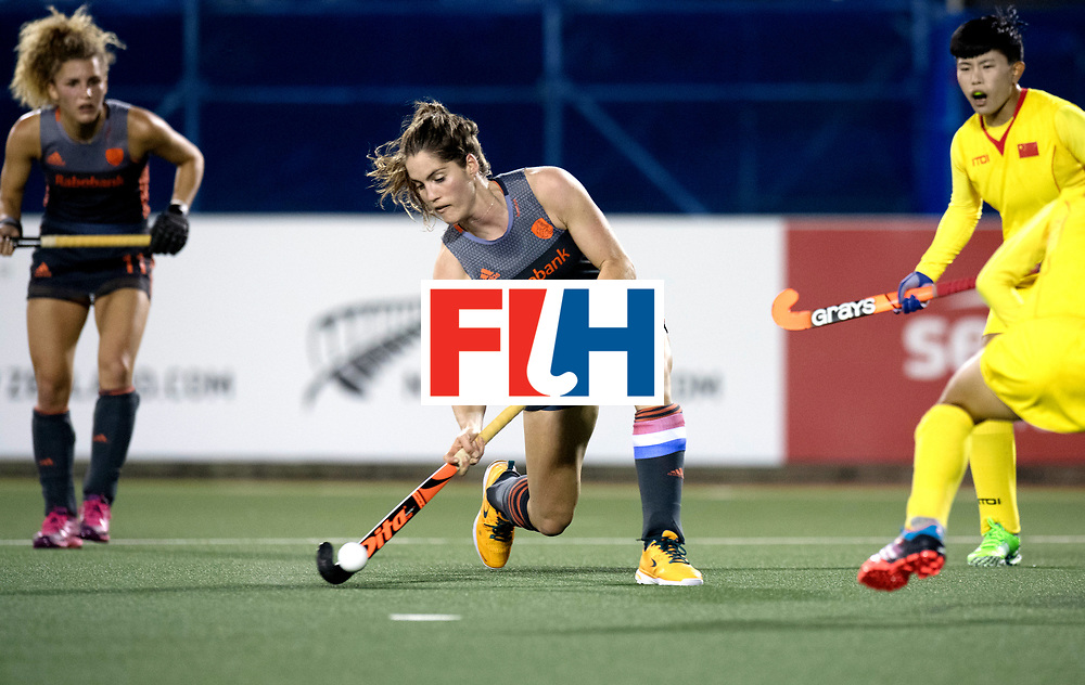 AUCKLAND - Sentinel Hockey World League final women<br /> Match id: 10305<br /> 16 NED v CHina (QF)<br /> Foto: Marloes Keetels scores 2-0<br /> WORLDSPORTPICS COPYRIGHT FRANK UIJLENBROEK