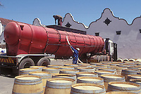 wine barrels winemaking in South Africa