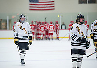 St Paul's School varsity Hockey with Tilton School.     ©2014 Karen Bobotas / for St Paul's School