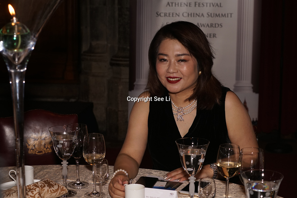 London,England,UK. 31th March 2017: Jin Shu Li  attends the Athene Festival 2017 at Guildhall,London,UK. by See Li
