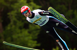 Andreas Wank of Germany during Ski Jumping Summer Continental Cup in Kranj, on July 2, 2011, in Kranj, Slovenia. (Photo by Vid Ponikvar / Sportida)