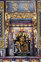 The temple has a number of different altars dedicated to a range of gods and deities.