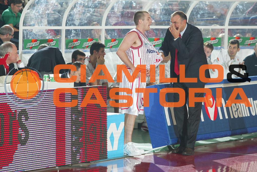 DESCRIZIONE : TERAMO CAMPIONATO LEGA A1 2004-2005<br /> GIOCATORE : BONICIOLLI - CRISPIN<br /> SQUADRA : NAVIGO.IT TERAMO<br /> EVENTO : CAMPIONATO LEGA A1 2004-2005<br /> GARA : NAVIGO.IT TERAMO-CARPISA NAPOLI<br /> DATA : 09/10/2005<br /> CATEGORIA : <br /> SPORT : Pallacanestro<br /> AUTORE : Agenzia Ciamillo-Castoria