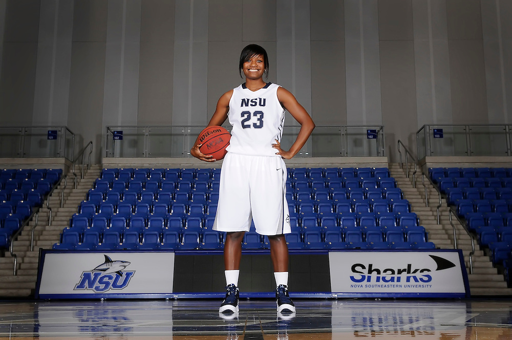 2012 NSU Women's Basketball Photo Day