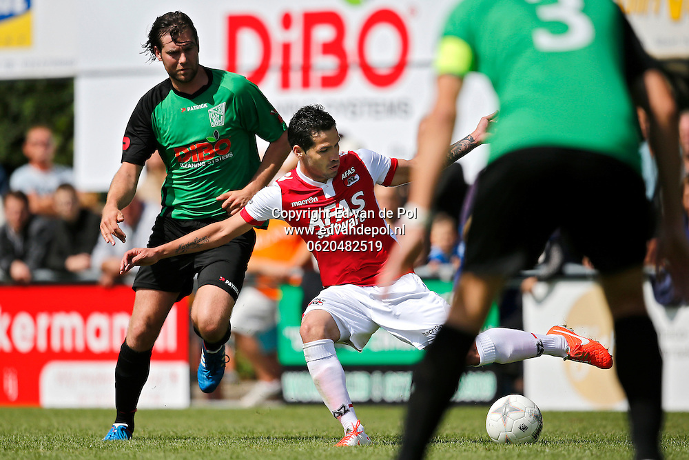 HEEHUGOWAARD - 05-07-2014 - SVW 27 - AZ,  sportpark De Kabel, 1-14, AZ speler Celso Ortiz (m).