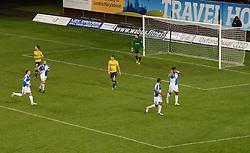 Ellis Harrison of Bristol Rovers celebrates his goal. - Mandatory byline: Alex James/JMP - 17/01/2016 - FOOTBALL - The Kassam Stadium - Oxford, England - Oxford United v Bristol Rovers - Sky Bet League Two