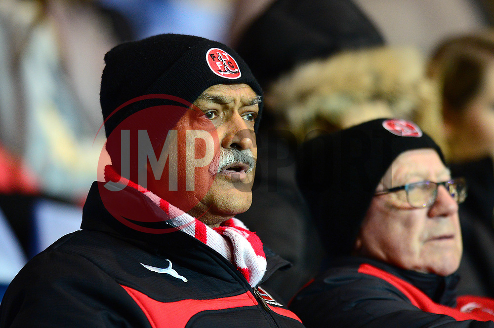 Fleetwood Town fans look on - Mandatory by-line: Dougie Allward/JMP - 05/04/2017 - FOOTBALL - Kassam Stadium - Oxford, England - Oxford United v Fleetwood Town - Sky Bet League One
