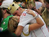 Håndball<br /> VM Tyskland<br /> 04.02.07<br /> Finale <br /> Tyskland - Polen<br /> Tyskland Verdensmester<br /> Pascal Hens mit Freundin Angela Schleipfer<br /> DIGITALSPORT / NORWAY ONLY