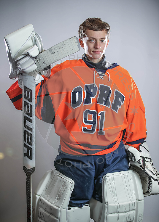 2014 OPRF Huskies Junior Varsity hockey photo day.