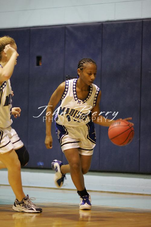 Page Tournament.Varsity Girls vs Rappahannock.First Period.December 29, 2004