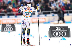 February 9, 2019 - Lahtis, FINLAND - 190209 Teodor Peterson of Sweden competes in the men's sprint quarter finale during the FIS Cross-Country World Cup on February 9, 2019 in Lahti..Photo: Johanna Lundberg / BILDBYRN / 135947 (Credit Image: © Johanna Lundberg/Bildbyran via ZUMA Press)
