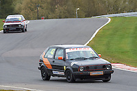 #42 Ian GREEN VW Golf GTi Mk2 during Teekay Couplings Mk2 Production Gti Championship - Race 4  as part of the BRSCC Oulton Park Season Opener at Oulton Park, Little Budworth, Cheshire, United Kingdom. April 09 2016. World Copyright Peter Taylor/PSP. Copy of publication required for printed pictures.  Every used picture is fee-liable. http://archive.petertaylor-photographic.co.uk