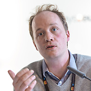 04 June 2015 - Belgium - Brussels - European Development Days - EDD - Migration - Migration , environment and climate change - Evidence for policy - Alex Randall , UK Climate Change and Migration Coalition Coordinator © European Union