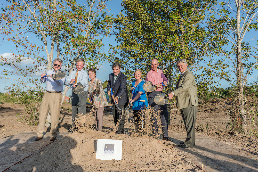 New Hope Housing celebrated the start of construction on their Reed Road property on Wednesday, October 12, 2016, with a groundbreaking ceremony.