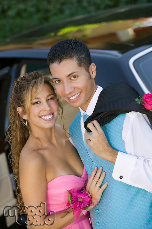 Teenage Couple Going to Dance