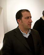 DAVID GRYN, The Doll's Day. Alice Anderson private view. Artprojx Space. Beauchamp Place. London. 7 January 2009 *** Local Caption *** -DO NOT ARCHIVE -Copyright Photograph by Dafydd Jones. 248 Clapham Rd. London SW9 0PZ. Tel 0207 820 0771. www.dafjones.com<br /> DAVID GRYN, The Doll's Day. Alice Anderson private view. Artprojx Space. Beauchamp Place. London. 7 January 2009