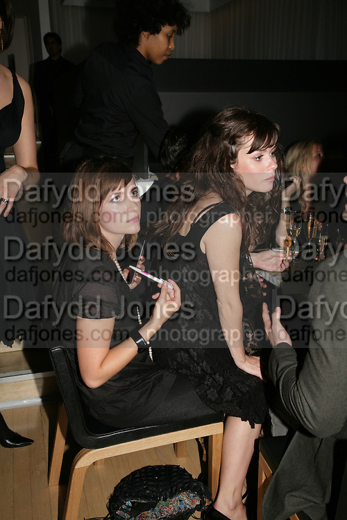 Anna Friel, An Evening At Sanderson,  Sanderson Hotel, 50 Berners Street, London, W1, Charity reception now in its seventh year raising money for CLIC Sargent.15 May 2007. -DO NOT ARCHIVE-© Copyright Photograph by Dafydd Jones. 248 Clapham Rd. London SW9 0PZ. Tel 0207 820 0771. www.dafjones.com.