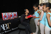 Misty Copeland Barbie Launch with Project Plie, Tuesday, April 26, 2016, in New York. (Photo by Diane Bondareff/Invision for Barbie)