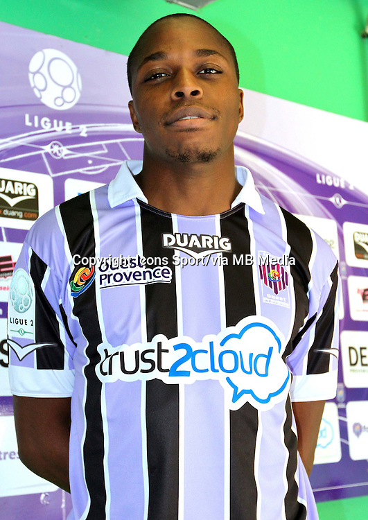 Bagaly DABO - 17.09.2013 - Photo Officielle Istres - Ligue 2<br /> Photo : Icon Sport