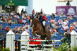 Bettendorf Victor, (LUX), Sorbier Blanc<br /> Team Competition round 1 and Individual Competition round 1<br /> FEI European Championships - Aachen 2015<br /> © Hippo Foto - Stefan Lafrentz<br /> 19/08/15